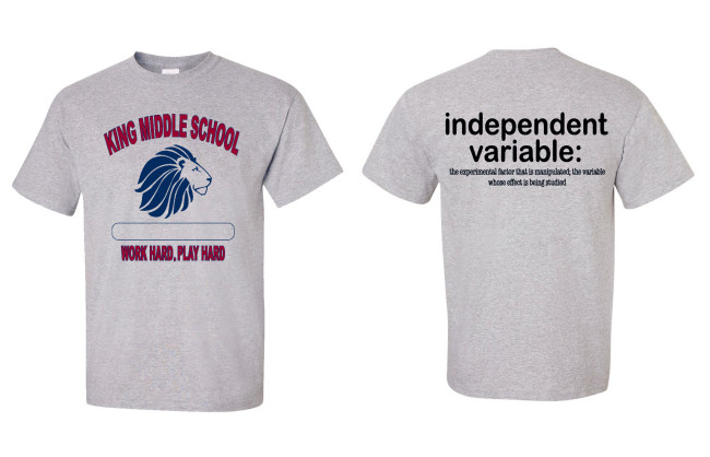 King Middle School SHIRT